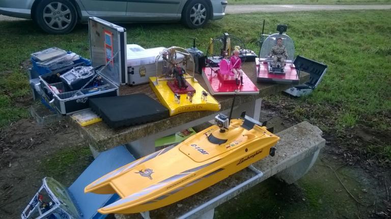 Les différents modèles flottants